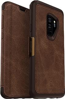 OtterBox Strada Series Case for Samsung Galaxy S9+ Wireless Accessory, Espresso
