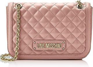 Love Moschino Quilted Nappa Pu, Borsa a spalla Donna, 15x10x15 cm (W x H x L)