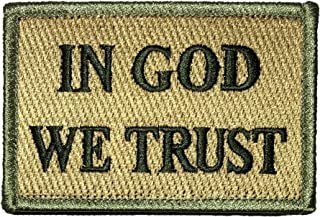 In God We Trust Morale Tactical Patch 2