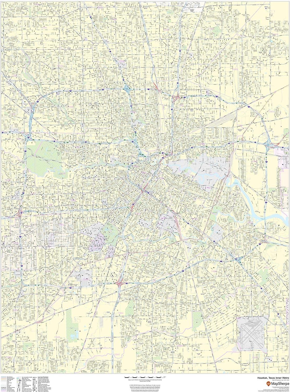 Houston Texas Washington Mall Inner Metro - Max 81% OFF Portrait Matte 36