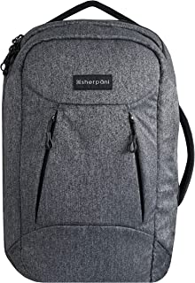 Sherpani Oslo, Nylon RFID Protected, Anti-Theft 38L Travel Backpack, and Weekender Bag for Men and Women
