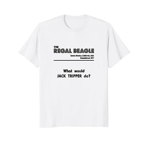 0e5143afaca Amazon.com  The Regal Beagle - What would Jack Tripper do  tshirt ...