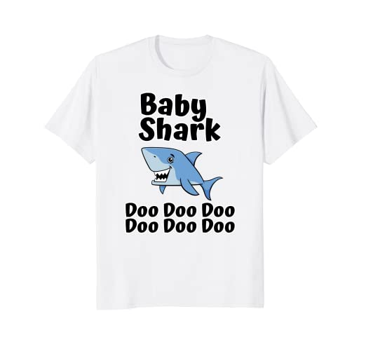 80e59945f0acce Image Unavailable. Image not available for. Color  Baby Shark Doo Doo Doo T- shirt ...