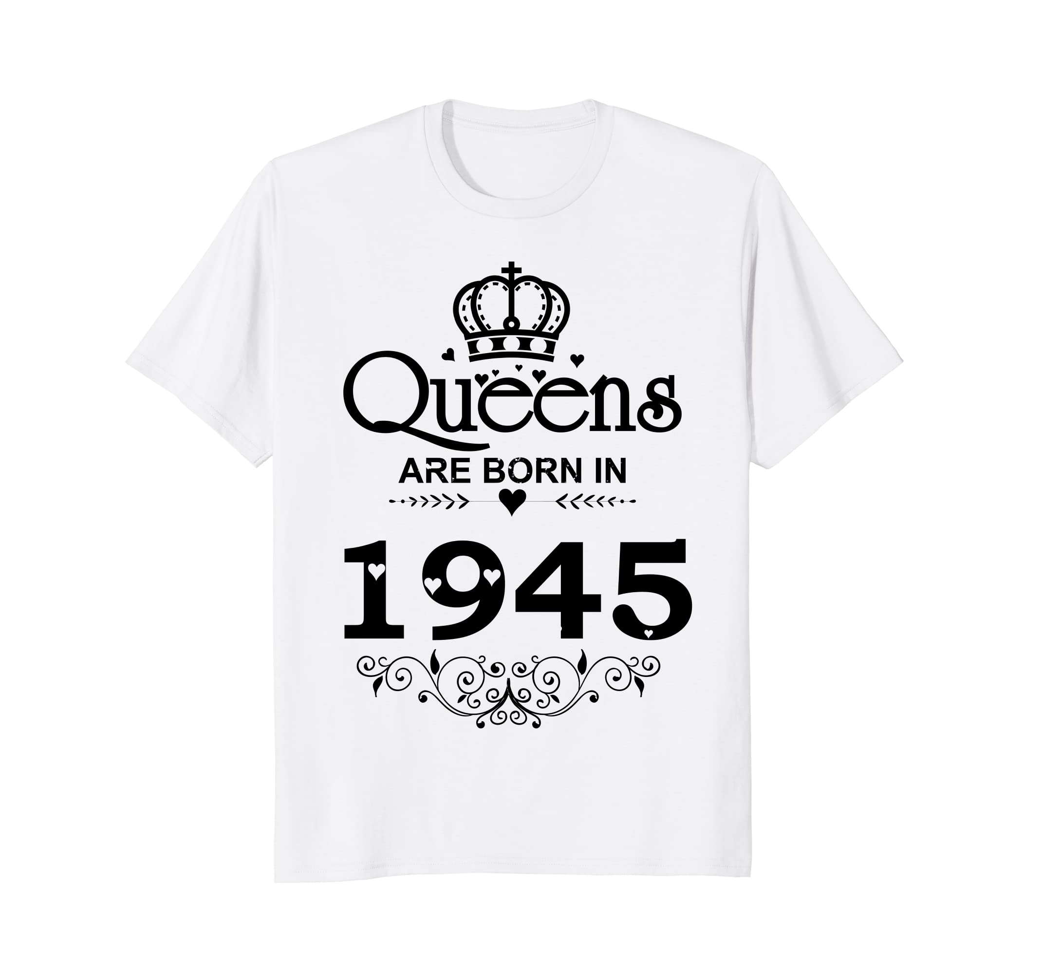 Amazon Vintage Queens Are Born In 1945 T Shirt 73rd Birthday Gifts Clothing