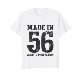 62nd Birthday T Shirt Men Women Gift Age 62 Grandpa Grandma