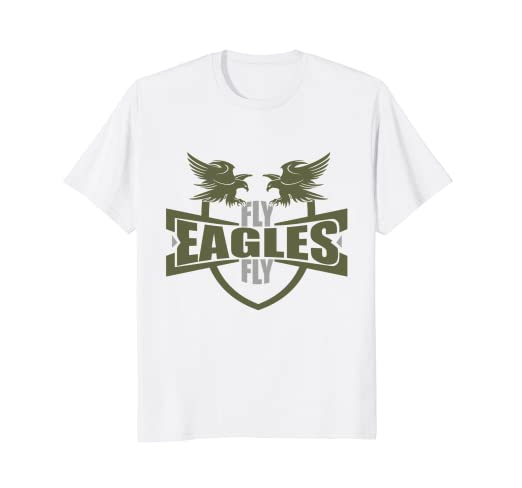 Image Unavailable. Image not available for. Color  Fly Eagles Fly T Shirt ~  TShirt Women Men Kids 0630b97f9