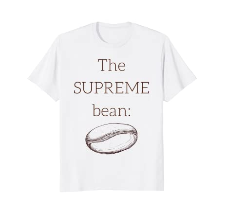 d339eda5ea56 Image Unavailable. Image not available for. Color: The Supreme Coffee Bean T -shirt