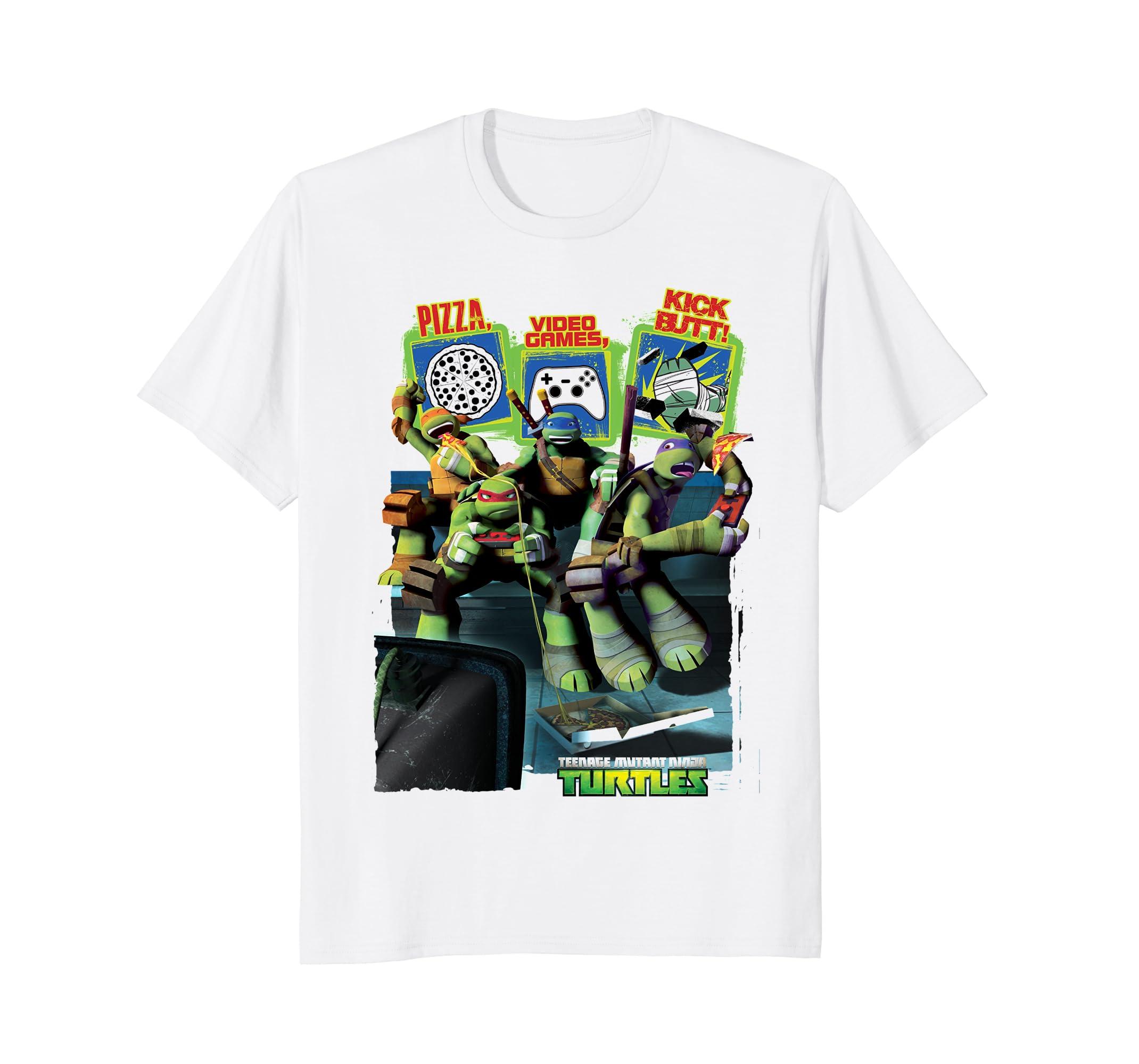 Amazon.com: Teenage Mutant Ninja Turtles Video Gaming T ...
