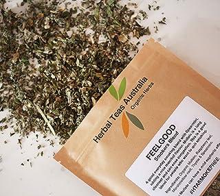 Herbal Teas Australia Organic 'Smokers Blend - Feelgood' Tea 50gm - Organic Herbal Tea Alternative for Smokers / to be Smo...