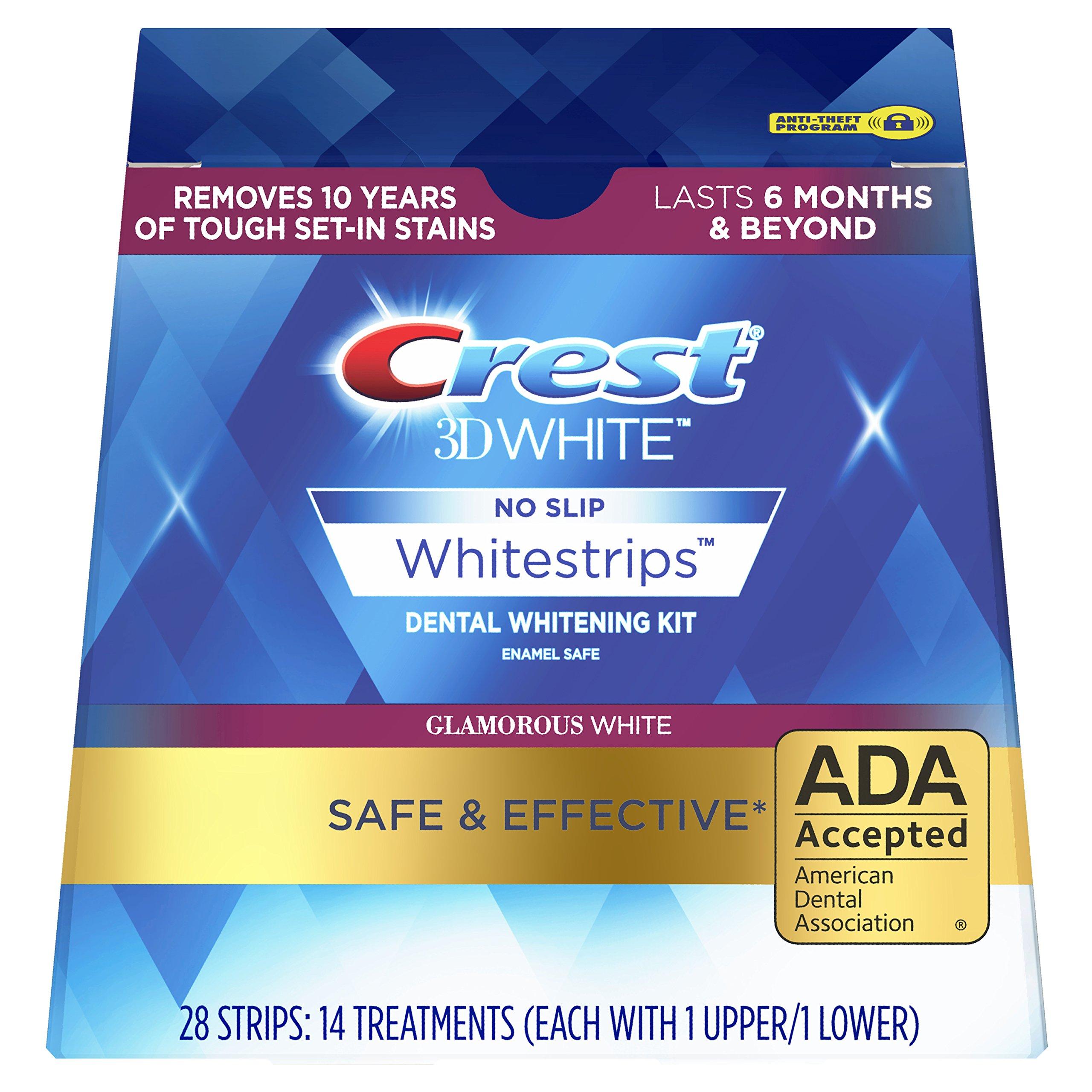 Crest Whitestrip Whitening Glamorous Treatments