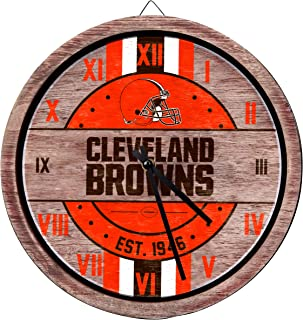 Amazon.com  NFL - Wall Clocks   Décor  Sports   Outdoors b79c1ef5b70
