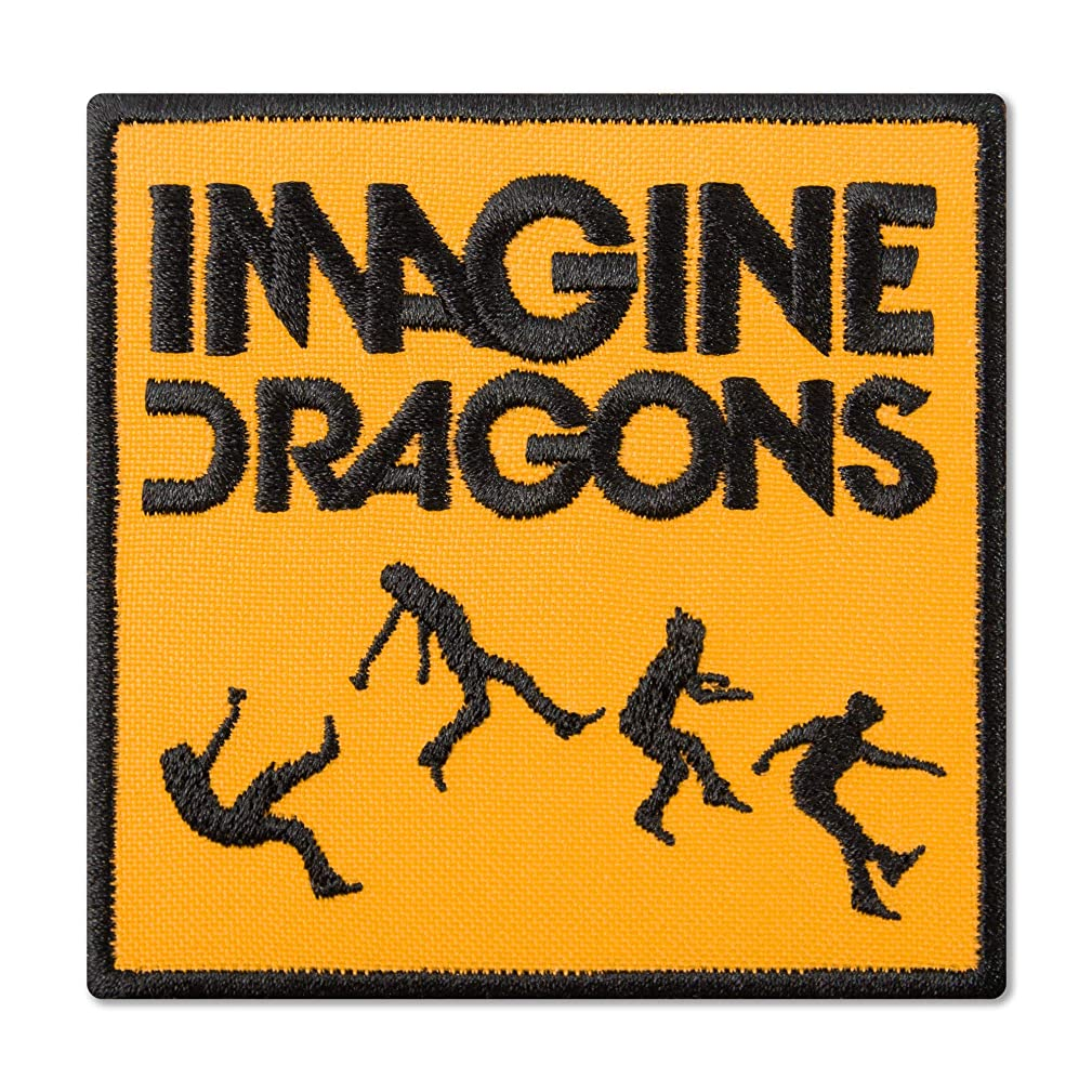 Imagine Dragons On Top of The World Album Cover Music Rock Band Embroidered Patch Iron On (3.3