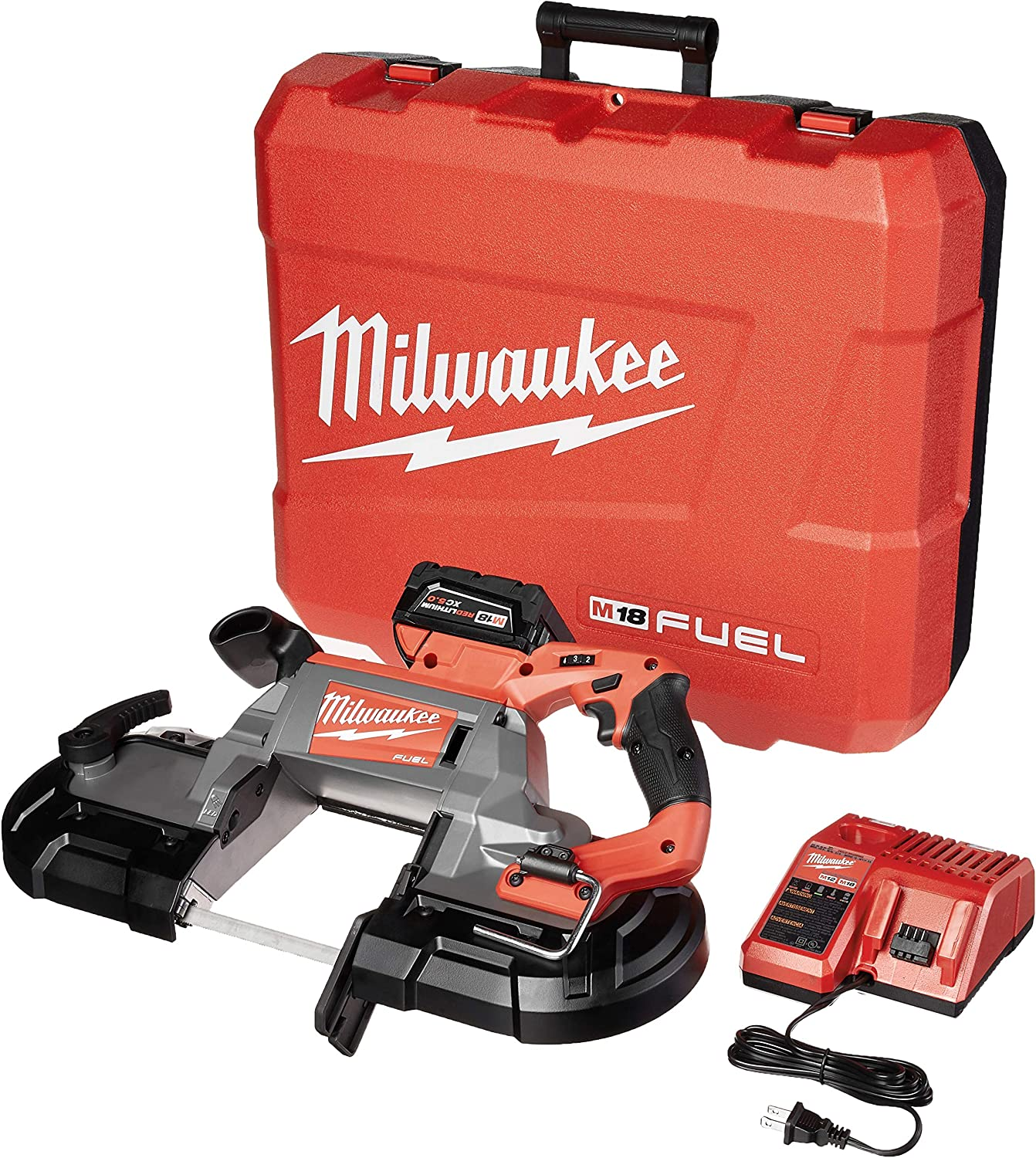 MILWAUKEE'S 2729-21 M18 Fuel Deep Cut Band Saw 1 Kit Bat Popular shop is the lowest Purchase price challenge