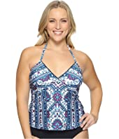 BECCA by Rebecca Virtue - Plus Size Inspired Tankini Top