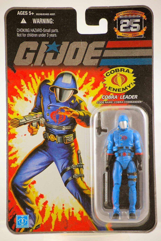 GI Joe - 25th Anniversary - Collector Edition - Wave 6 - COBRA LEADER - Code Name  Cobra Commander B0010X5Y2U Verwendet in der Haltbarkeit   | Discount