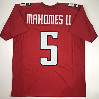 Unsigned Patrick Mahomes II Texas Tech Red College Custom Stitched Football Jersey Size Men's XL New No Brands/Logos