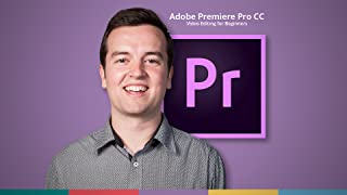 Adobe Premiere Pro CC Video Editing for Beginners (Online Course) [Online Code]