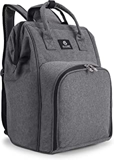 ALLCAMP Picnic Backpack for 2 Person with Detachable Bottle/Wine Holder, Fleece Blanket, Plates and Cutlery Set
