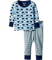 Hatley Kids Cop Cars Long Sleeve Mini Pajama Set (Infant)