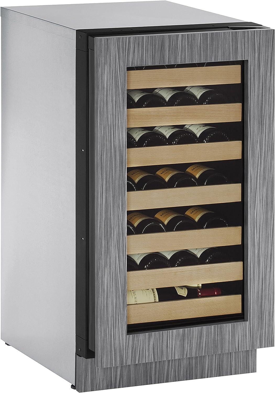 U-Line U2218WCINT00A Built-in Wine Steel Financial sales sale Luxury Storage Stainless 18