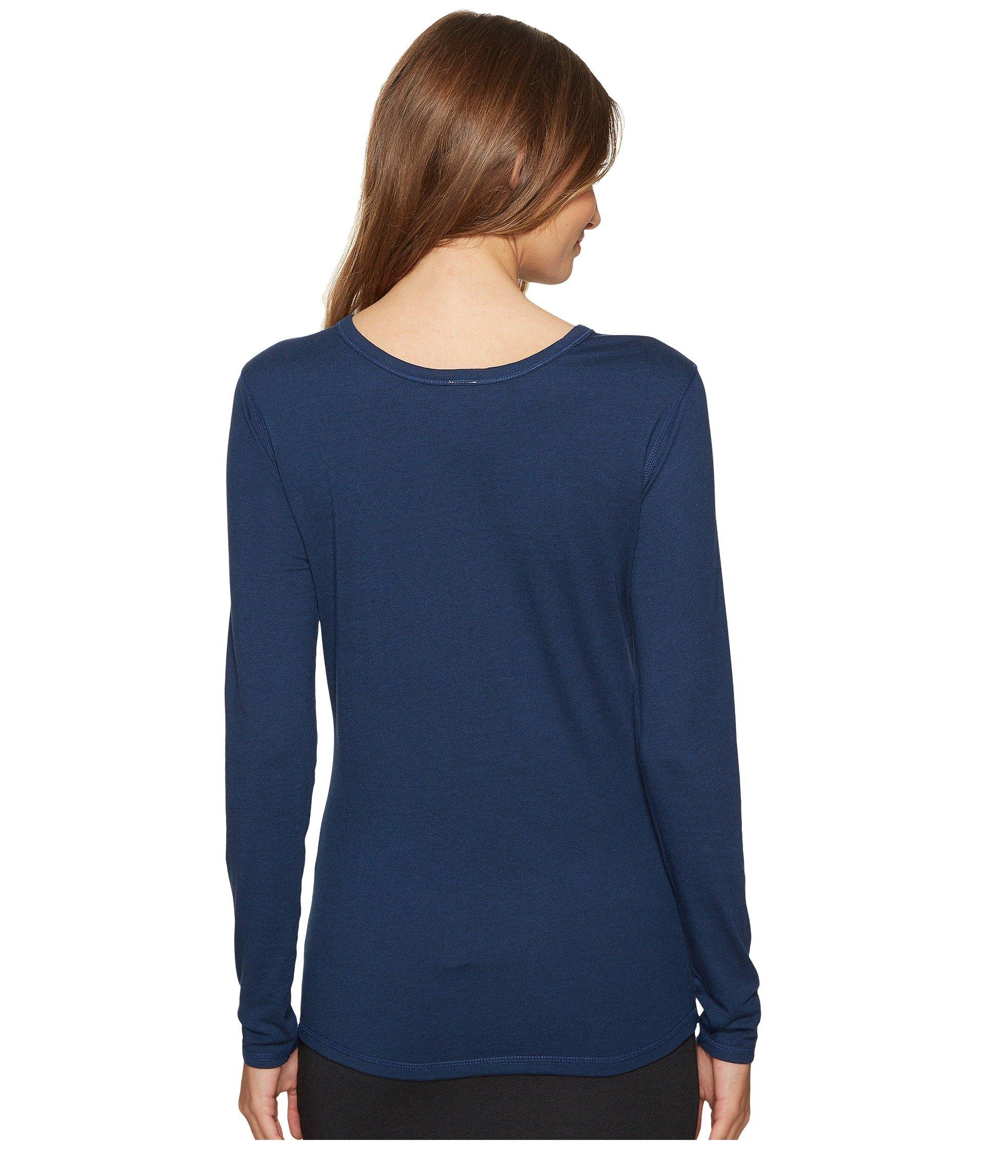 Long Reversible Sleeve back Jersey 4ward Clothing Top Navy Front 5qOCgxPwx