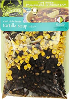Frontier Soups Homemade In Minutes Soup Mix, South of The Border Tortilla, 4.5 Ounce