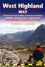 West Highland Way: 53 Large-Scale Walking Maps & Guides to 26 Towns and Villages - Planning, Places to Stay, Places to Eat...