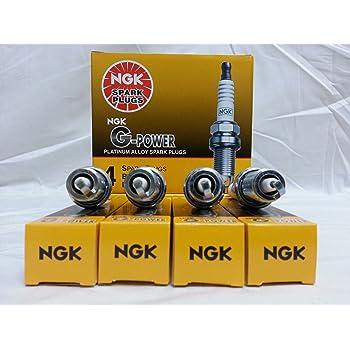 4pcs 01-11 Suzuki DF115 NGK G-Power Spark Plugs 4-Cyl 4-Stroke 115 HP Kit lm