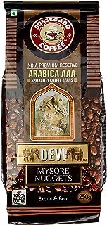 DEVI Mysore Nuggets Arabica AAA Coffee Beans, 250g