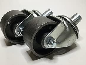 231583 Floor Jack Casters (Steel - 2 Pcs) OEM for Lincoln, Walker, Hein Werner, Snap-On