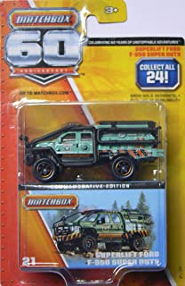 SUPERLIFT FORD F-350 SUPER DUTY * MATCHBOX 60TH ANNIVERSARY * 2013 Commemorative Edition Vehicle #21 of 24