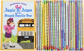 JUNIE B. JONES 27-BOOK SET: Stupid Smelly Bus, Monkey Business, Big Fat Mouth, Sneaky Peeky Spying , Yucky Blucky Fruitcake, Meanie Jim's Birthday, Loves Handsome Warren, Monster Under Bed, Not Crook, Party Animal, Dumb Bunny, Batman Smells and more
