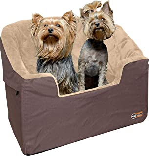 """K&H Pet Products Bucket Booster Dog Car Seat Large Tan 14.5"""" x 24"""""""