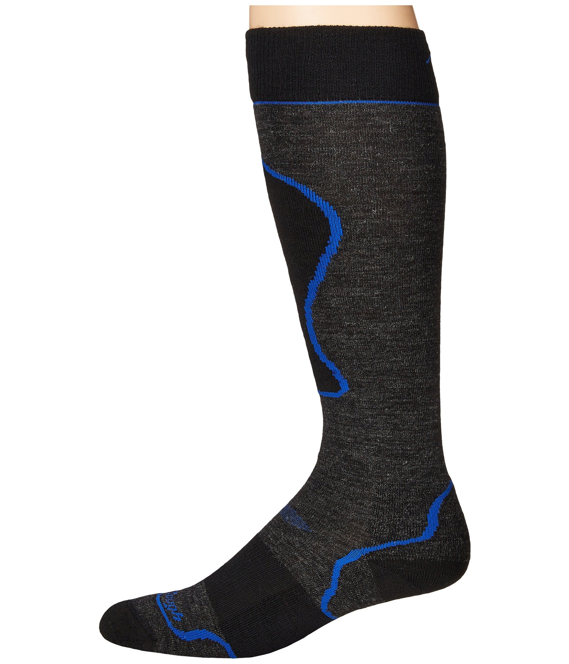 Over Cushion Padded Darn Socks Merino The Vermont Calf Wool Black Tough qnfq8ICxwO