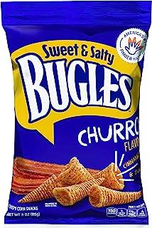 Bugles Corn Snacks, Sweet and Salty Churro, 3 Oz (Pack of 6)