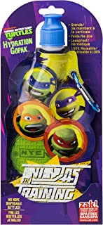 Zak Designs Teenaged Mutant Ninja Turtle Collapsible Water Bottle by Zak Designs, 15-Ounce
