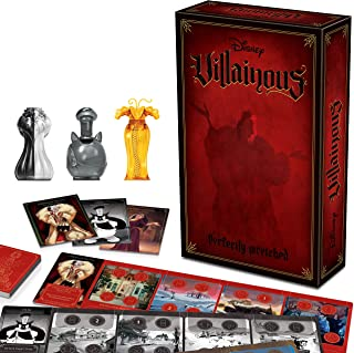 Ravensburger Disney Villainous Perfectly Wretched - Strategy Board Game for Kids & Adults Age 10 Years Up - Can Be Played ...