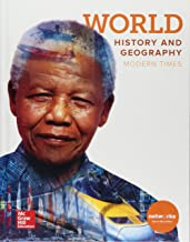 World; History and Geography, Modern Times, c 2018, 9780076768240, 0076768244