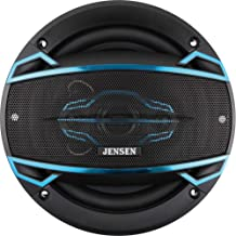 $20 » Jensen JS465 4-Way 6 ½ inch Car Speakers with 160-Watt Power & 35mm Mylar Balanced Dome Midrange