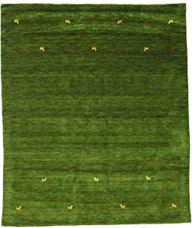 RugVista, Gabbeh Loom Two Lines Alfombra, Gabbeh, Pela Alta, 240 x 290 cm, Rectangular, BSCI, Lana, Pasillo, Dormitorio, C...