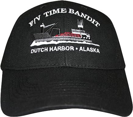 F/V Time Bandit Boat Hat Black