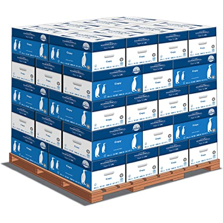 Hammermill Printer Paper, 20 lb Copy Paper, 8.5 x 11 - 1 Pallet, 40 Cases (200,000 Sheets) - 92 Bright, Made in the USA