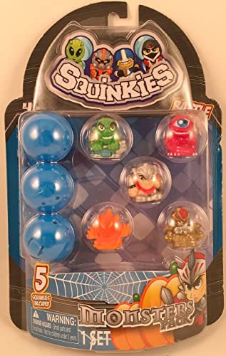 Squinkies Monsters Pack 5 Character Set