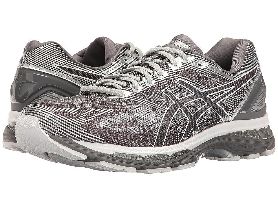 ASICS GEL-Nimbus(r) 19 (Carbon/White/Silver) Men