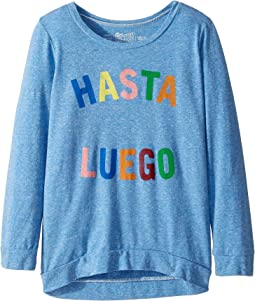 3/4 Vintage Tri-Blend Hasta Luego Pullover (Big Kids)