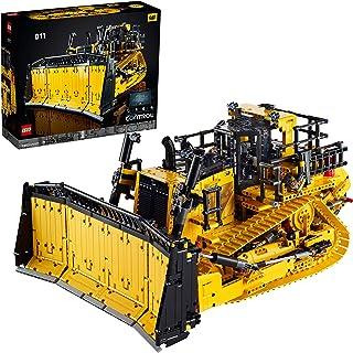 LEGO 42131 Technic App-gestuurde Cat D11 Bulldozer Bouwset voor Volwassenen, Bouwvoertuig met Afstandsbediening