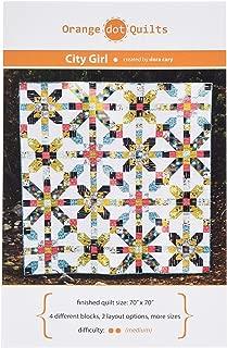Orange Dot Quilts CITYGRL-014 City Girl Pattern