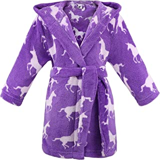 Image of Comfortable Purple Unicorn Robe for Girls and Toddlers - See More Unicorn Designs