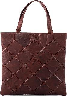 LEABAGS Chiba Handtasche aus echtem Büffel-Leder im Vintage Look