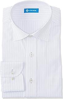 [ドレスコード101] ワイシャツ シンプルがかっこいい 定番デザイン 長袖ワイシャツ しわになりにくい 形態安定 メンズ UBD100